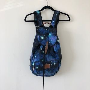 Blue Galaxy Backpack (PINK)